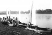 1938 Elsterbecken unterhalb Palmengartenwehr
