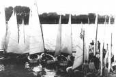1950 Elsterstausee Regattavorbereitung