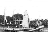 1952 Elsterstausee Steganlage
