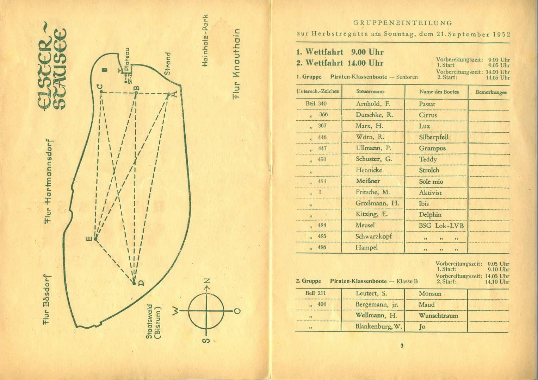 Herbstsegelregatta 1952