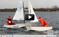 Nikolaus im Segelboot