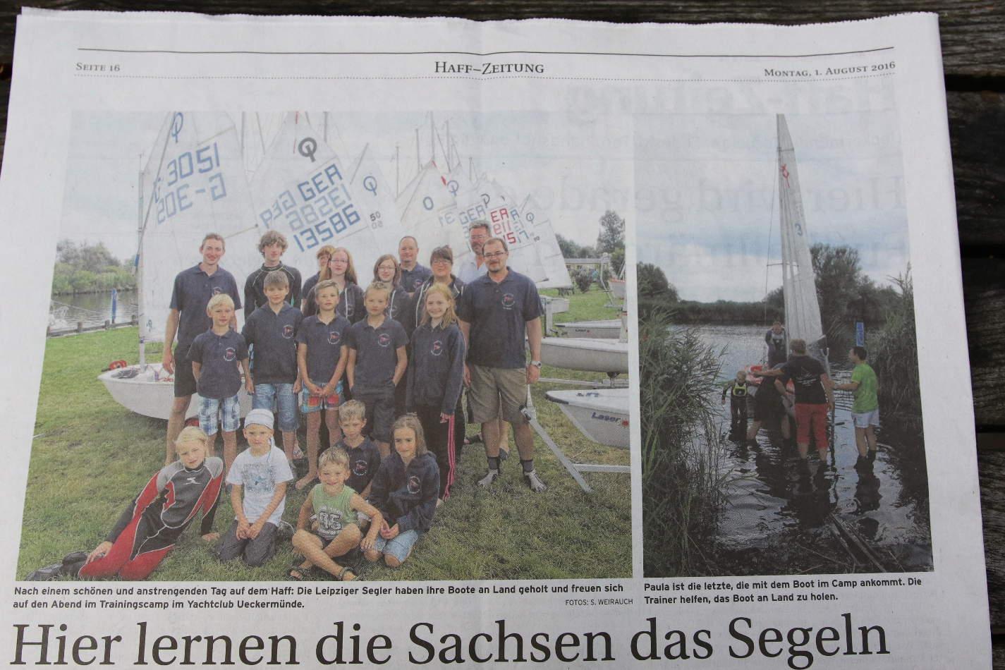 Haff-Zeitung 1. August 2016