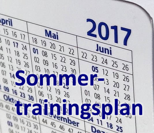 Sommertrainingsplan-2017